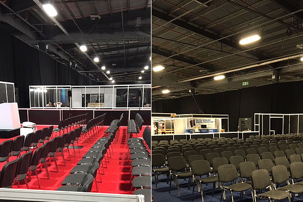 Rent ISO conference chairs in large quantities
