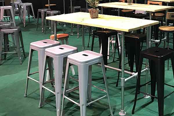 *NEW* Tolix stools for modern event styling