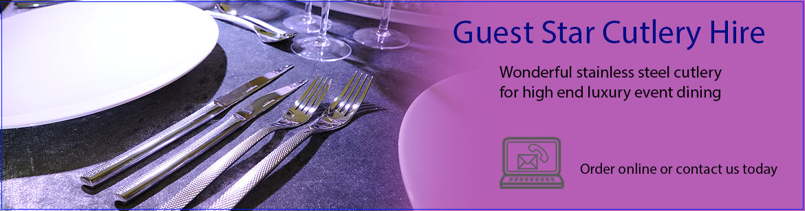 Hire Guest Star Stainless Steel Cutlery