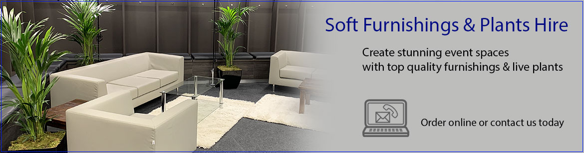 Soft Furnishings & Plants Hire