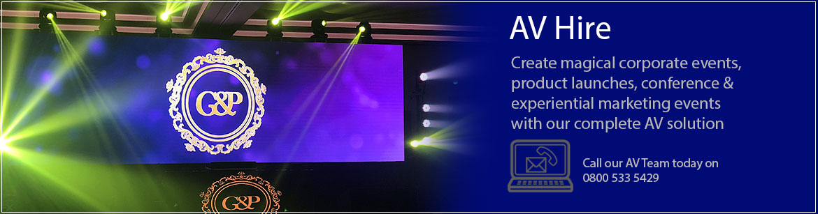 Hire AV Equipment For Events
