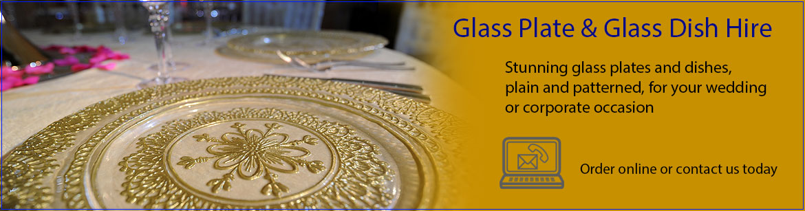 Hire Glass Plates & Dishes