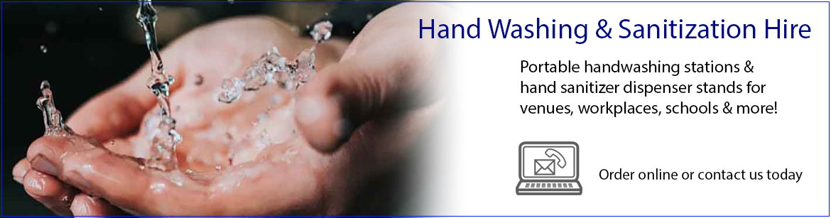 Hire Hand Washing & Sanitization Equipment