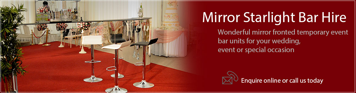 Hire Starlight Mirror Bars