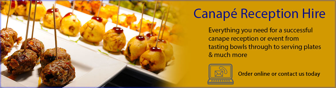 Hire Canape Equipment