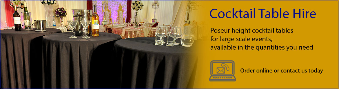 Hire Cocktail Event Tables