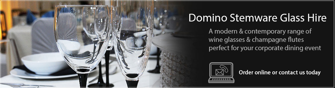 Hire Domino Wine Glasses & Champagne Glasses