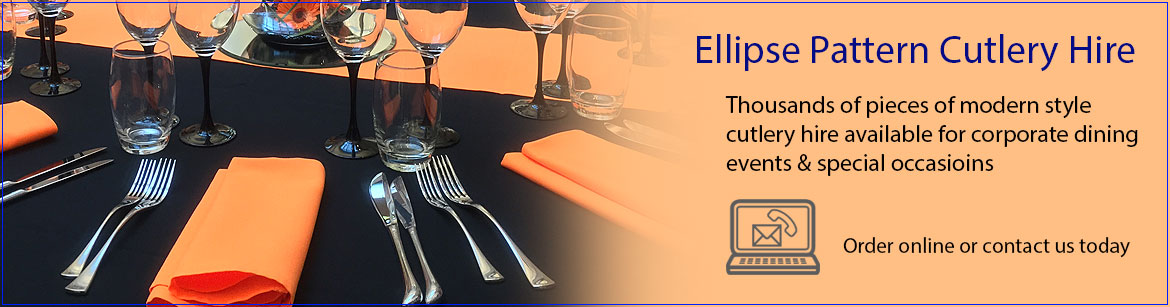 Hire Ellipse Pattern Cutlery