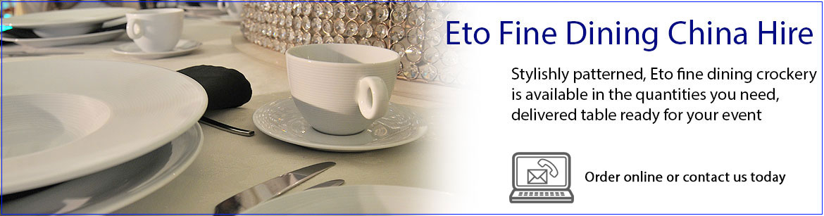 Hire Eto Fine Dining Crockery