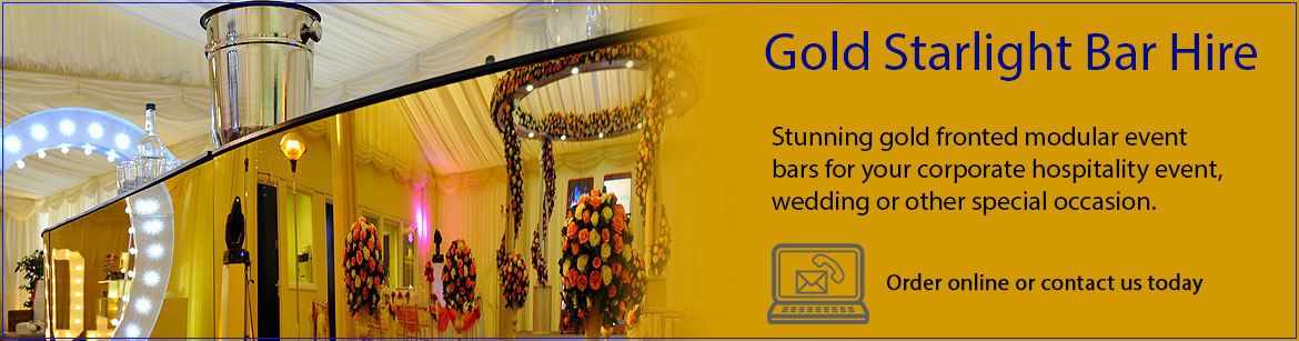 Hire Gold Starlight Bars