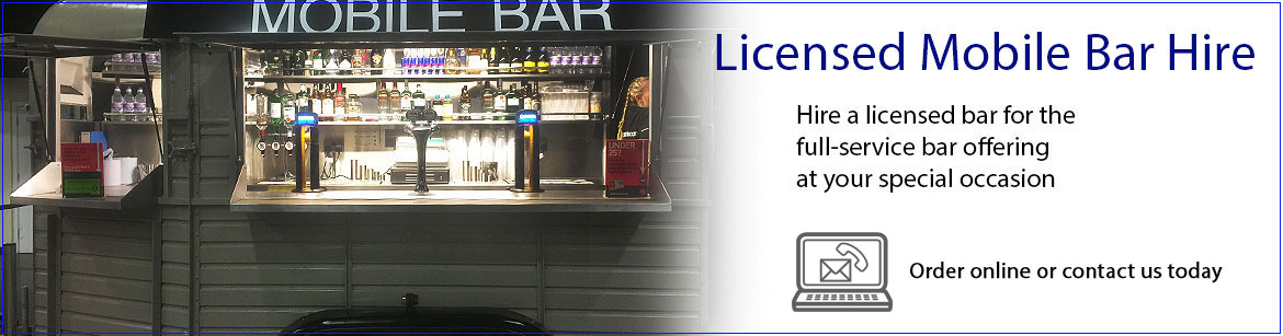 Hire Licensed Mobile Bars