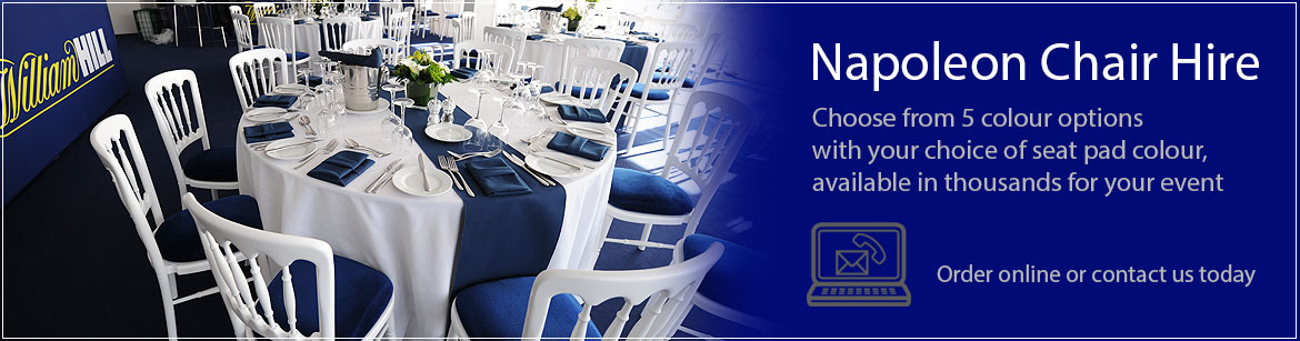 Hire Napoleon Banqueting Chairs