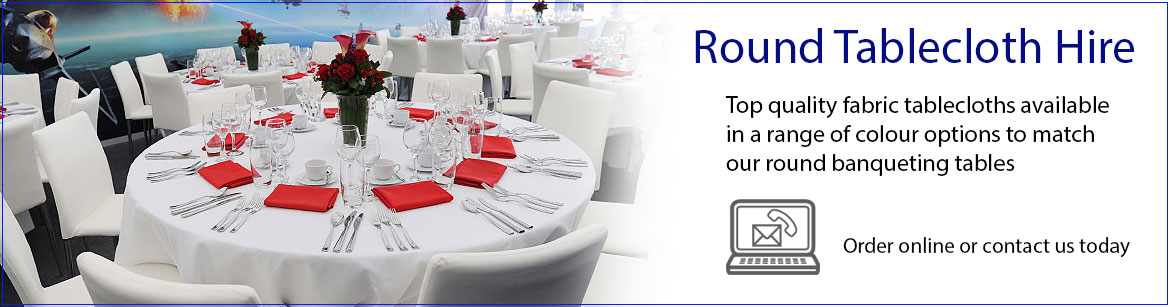 Hire Round Tablecloths