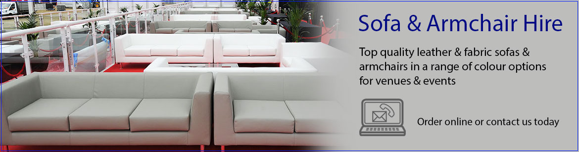 Sofa & Armchair Hire | Event Hire UK