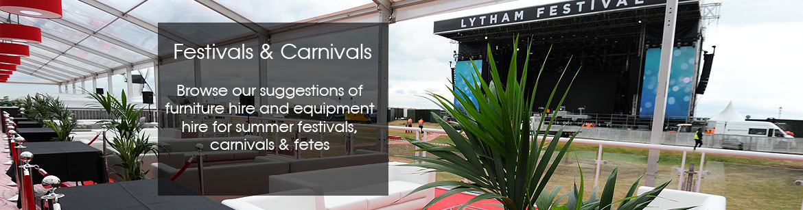 Festivals & Carnivals Equipment Hire
