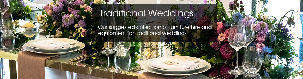Traditional Wedding Equipment Hire