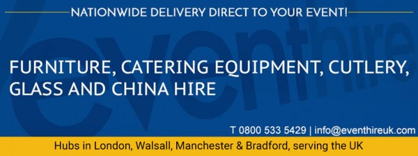 Glass Plates, Chargers & Dish Hire Nottingham