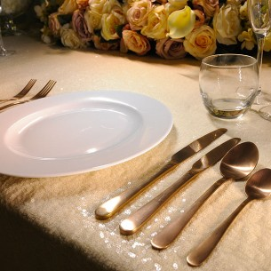 Enamor Copper Cutlery Hire Leeds