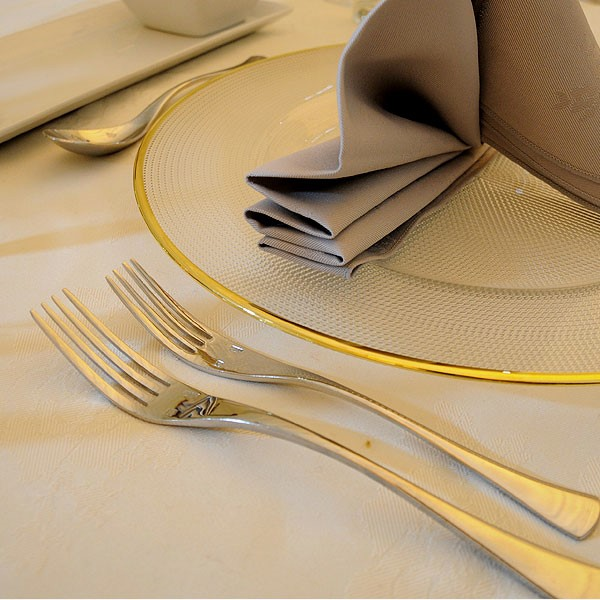 Ellipse Pattern Cutlery Hire Birmingham