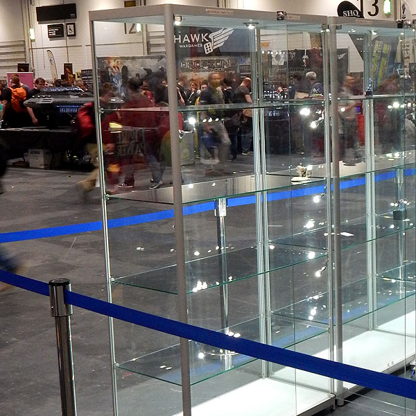 Display Showcase Hire Manchester