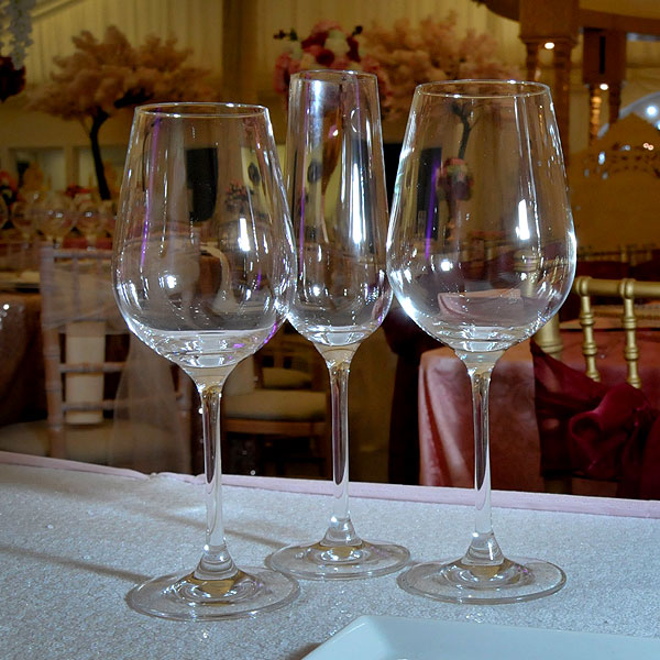 Invitation Stemware Glass Hire London