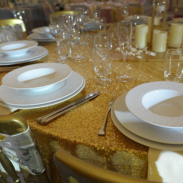 Martello Fine White China Hire Nottingham