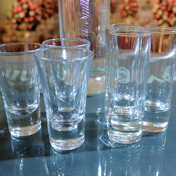 Shot Glass Hire Birmingham