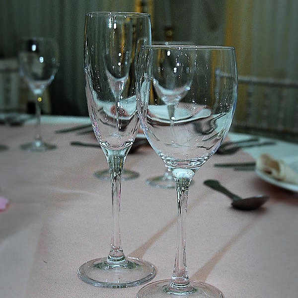 Signature Stemware Glass Hire London
