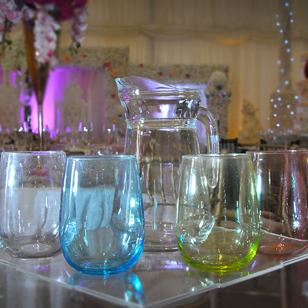 Water Jugs & Glass Hire London