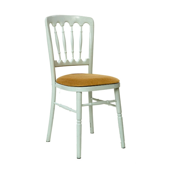 White Napoleon Chair Hire