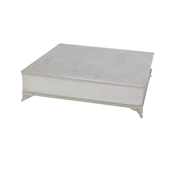 Square EPNS Cake Stand
