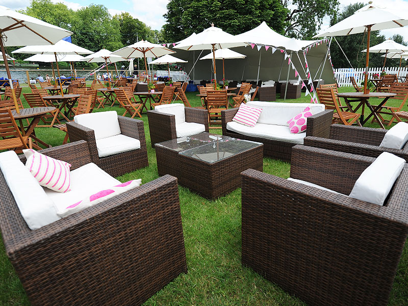Chelsea Outdoor Rattan Armchair | Event Hire UK