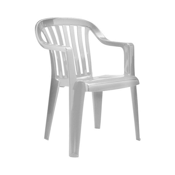 White Patio Chair Hire