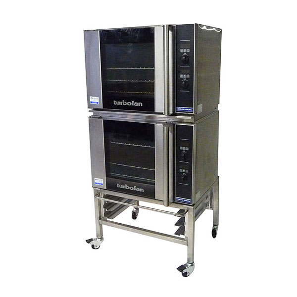 Double Turbofan Convection Oven & Stand