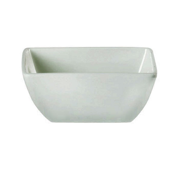 White China Square Salad Bowl