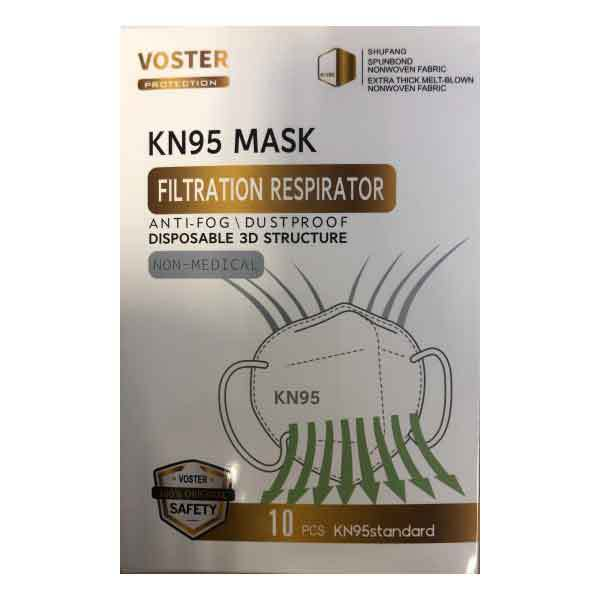 Voster KN95 Face Mask (Pack of 20)