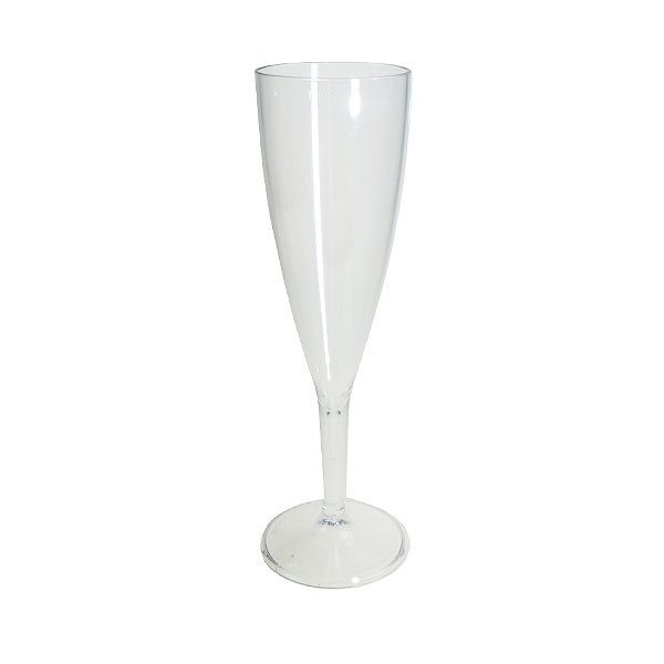 Reusable Polycarbonate Clarity Champagne Flute
