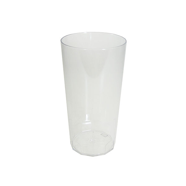 Reusable Polycarbonate Clarity Hi Ball Half Pint