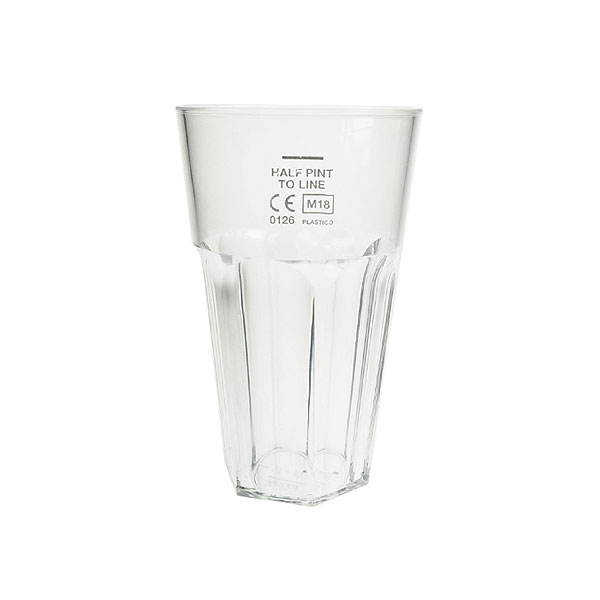 Reusable Polycarbonate Celebrity Half Pint Tumbler