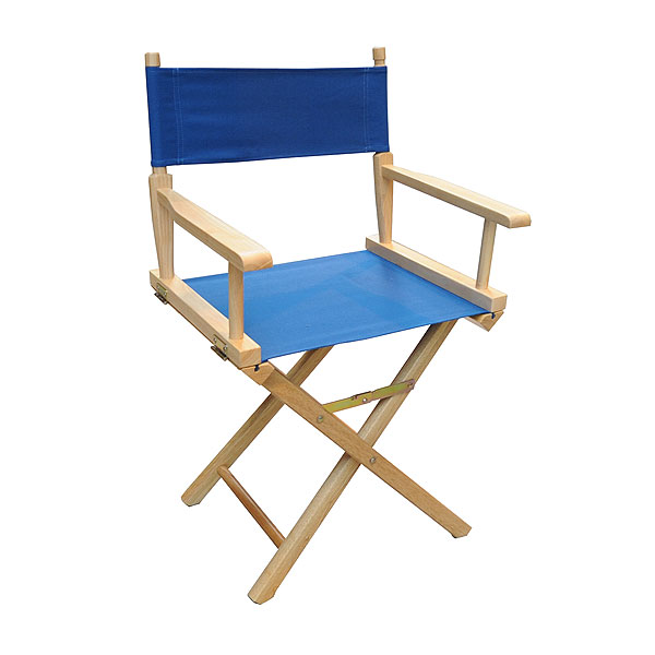 Blue Directors Chair