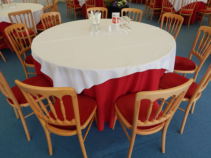 6ft Round Banqueting Table Hire