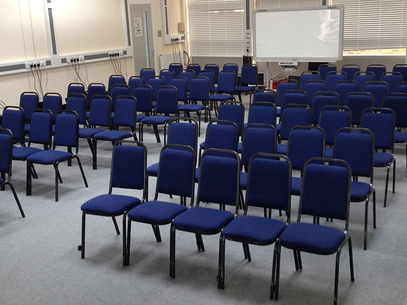 Hire Blue Conference Chairs