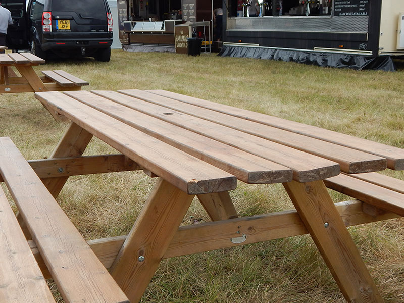Picnic Bench Hire For Events