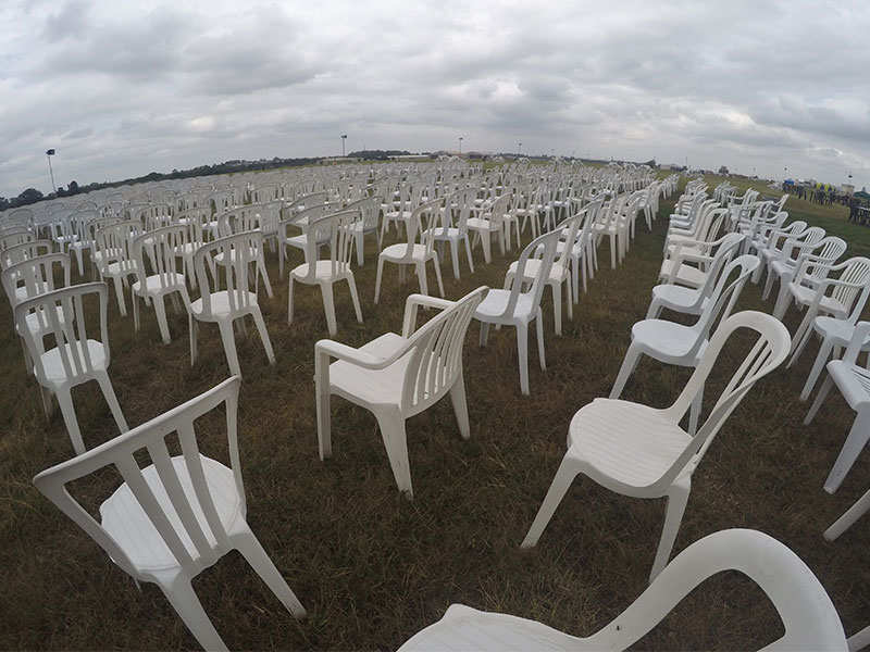 Rent White Bistro Chairs