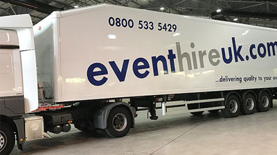 Event Hire Delivery Collection 1