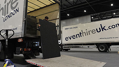 Event Hire Delivery Collection 4