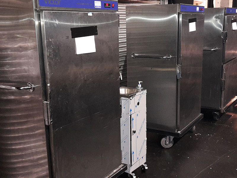 Food Serving & Storage Hire For Temporary Events