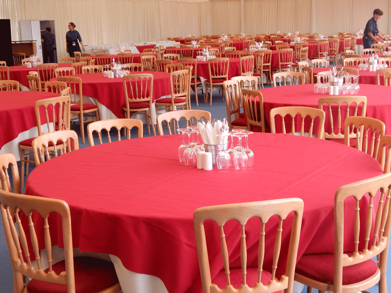 Temporary Event Banqueting Chair Hire