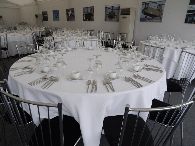 Temporary Event Crockery Hire UK