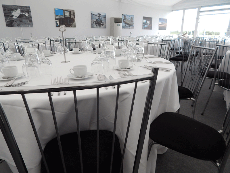 Temporary Event Round Table Hire